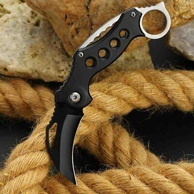 COUTEAU KARAMBIT CHASSE KNIFE MESSER COMBAT TACTIQUE HUNTING SURVIE TACTICAL