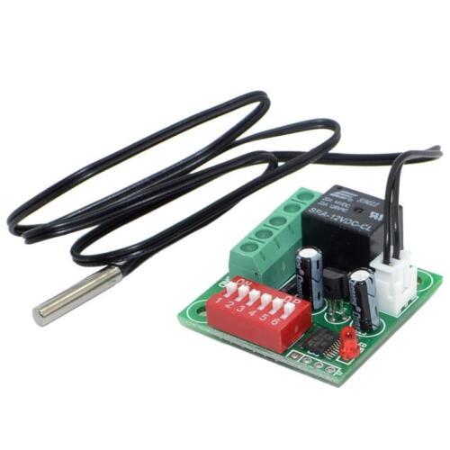 DC12V 20-90℃ Heat Cool Thermostat Temperature Temp Control Switch+Sensor B25=10k