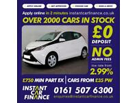Toyota Aygo Vvt-I X-Play Hatchback 1.0 Petrol GOOD / BAD CREDIT CAR FINANCE