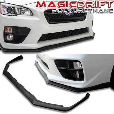PU For 15-20 Subaru WRX STI 4Dr HD Style Front Bumper Lip Spoiler