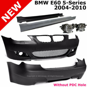 BMW E60 5-Series 04-10 M5 Style Body Kit Bumper Cover Projector