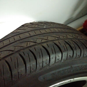 Ford MUSTANG original tires and rims. HUGE DISCOUNT.