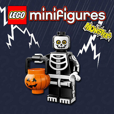 LEGO Minifigures #71010 - Halloween / Monsters - Skeleton Guy - NEW / Sealed