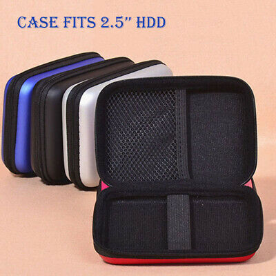 External Carrying Case - For 2.5'' HDD External Hard Drive Carrying Protective Pouch Case 3 Colors Bag