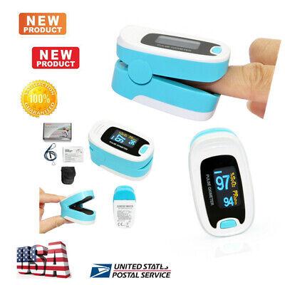 Fda Ce Oled Oximeter Finger Pulse Blood Oxygen Spo2 Pr Heart Beat Monitor Usa