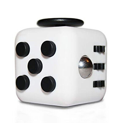 The Source Twiddle Cube Fidget Toy For Kids White New Uk