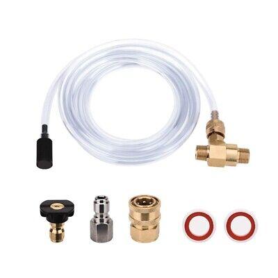 Pressure Washer Chemical Injector Kit Adjustable Soap Dispenser 38 Inch Q W7d5