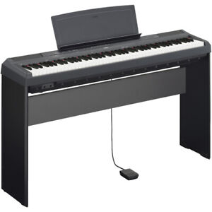 Yamaha piano P-115 B with Wooden Stand and pedal