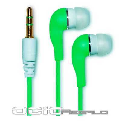 Auriculares para Samsung Galaxy S3 SIII S III GT i9300 Cascos Verde Jack 3,5 segunda mano  España