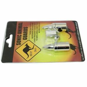 Animal Sonic detectors Chrome  pack of 2 Para Hills West Salisbury Area Preview