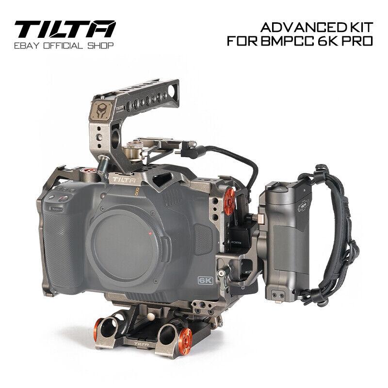 Tilta Camera Cage Movie Making Rig Cam Stabilizer For BMPCC 6K Pro Advanced Kit