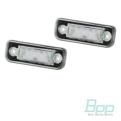LED Kennzeichenbeleuchtung Mercedes C W203 CLK W209 SL R230 W211 R171 C219