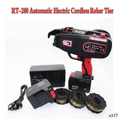 Rt-280 Automatic Electric Cordless Rebar Tier Tying Machine