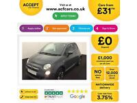 Fiat 500 1.2 ( 69bhp ) ( s/s ) 2015MY S FROM £31 PER WEEK!