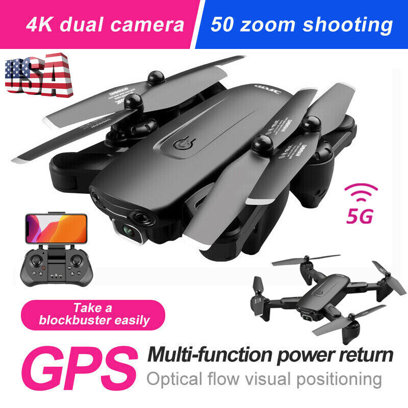 5G 4K GPS Drone x Pro with HD Dual Camera Drones WiFi FPV Foldable RC Quadcopter