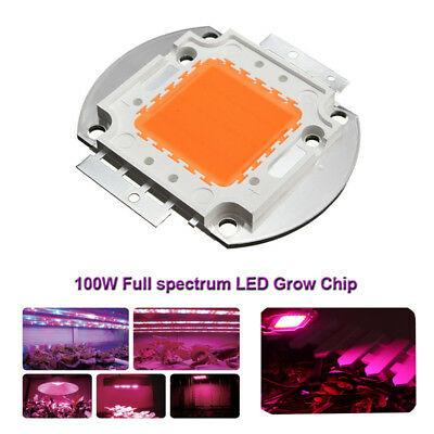 100w Full Spectrum Led Grow Chip 380nm840nm For Indoor Plant Growth