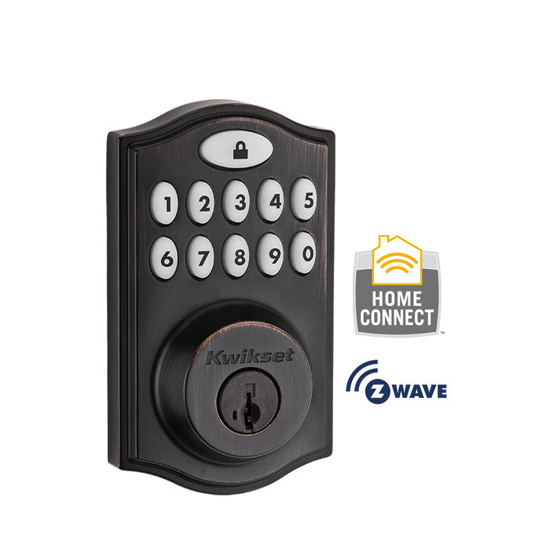 Kwikset 914 Smartcode Deadbolt With Home Connect Z Wave
