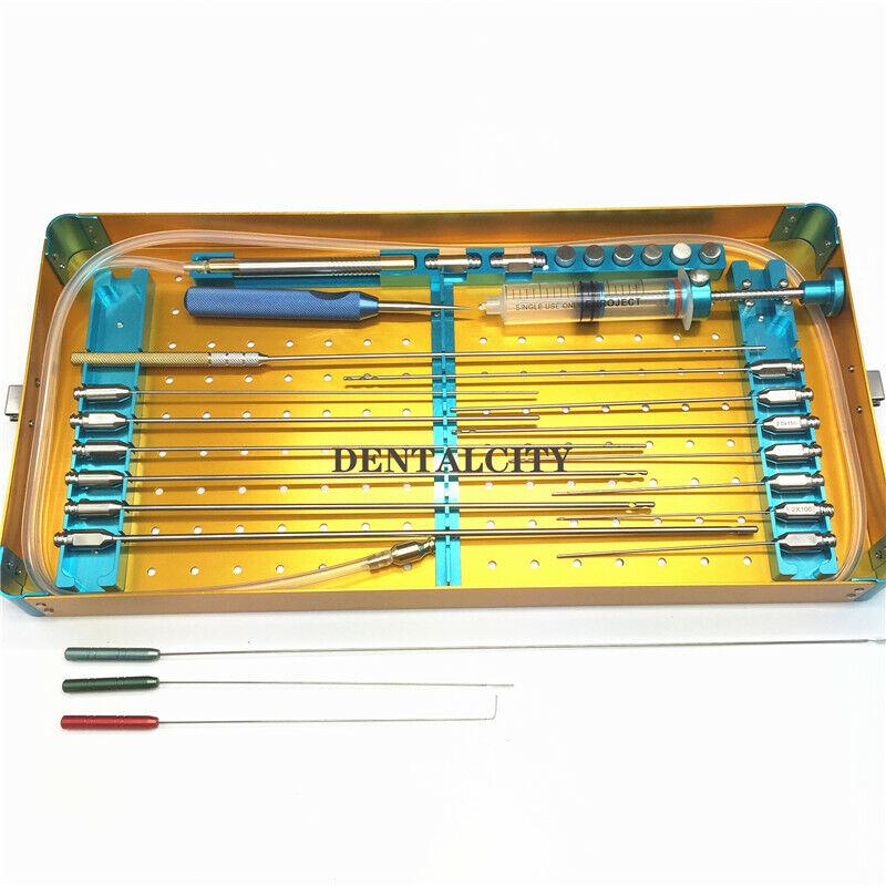 Fat cannula kit box Stem Cell Lipo Fat Transfer Liposuction box Beauty tooll