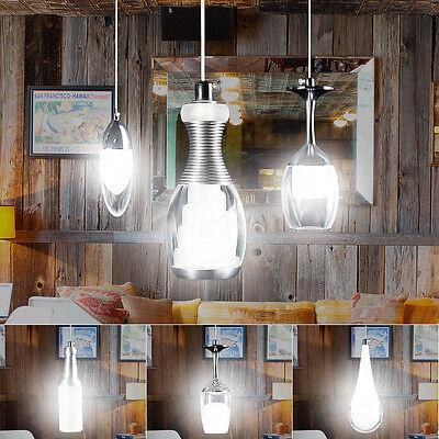 Modern LED Wine Glass Bar Ceiling Light Pendant Lamp Fixture Lighting Chandelier ()
