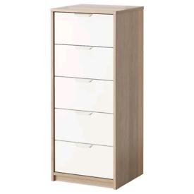 ASKVOL Chest of 5 drawers,