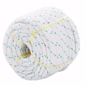 NEW 150 FT DOUBLE BRAID POLYESTER ROPE SLINGS BREAK ROPEP