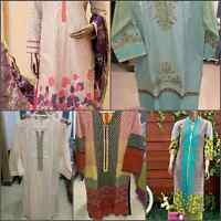 sale on all pakistani dresses/clothes at inaaya's collection