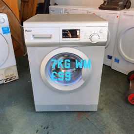 Haier 7kg washing machine free delivery