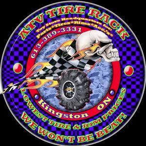 No Limit 14x6 4/156 Octane Positive Voodoo Blue ATV TIRE RACK Kingston Kingston Area image 2