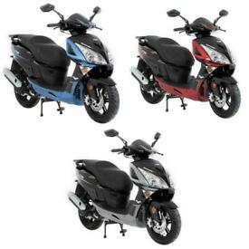 Lexmoto Titan 125 EFI CBT Learner Legal 125cc Scooter - All Colours