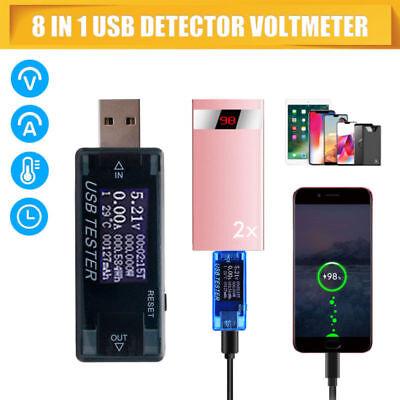 Battery Meter (USB 3.0 LCD Digital Voltmeter Tester Spannung Strom Meter Battery Capacity Teste)