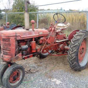 IH Super C Row Crop Tractor