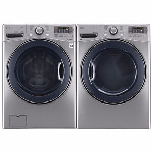 LG WM3770HVA washer and dryer pairs in Calgary, only $1890.00!