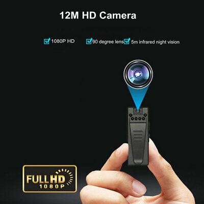A7 HD Spy Pen 1080P Hidden Body Camera IR Night Vision 90° Video Audio Motion