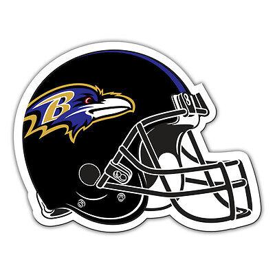 Fremont Die Baltimore Ravens Magnet (NFL Baltimore Ravens 12 inch Auto Magnet Helmet Shaped by Fremont)