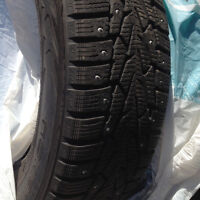 185/70R 14 Nokian winter studded tires