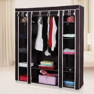 "Songmics 59"" portable wardrobe"