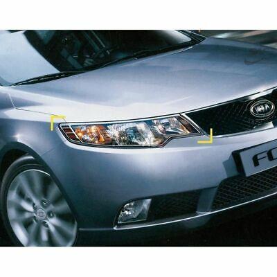 K-959 Car Chrome Head Lamp Light Cover for Kia Cerato / Forte 2009-2012