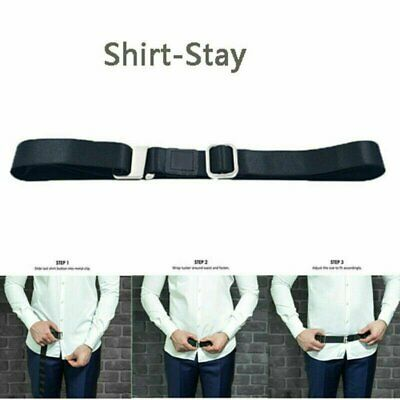 Shirt Holder Adjustable Near Shirt Stay Best Tuck It Belt for Women Men Work Clothing, Shoes & Accessories