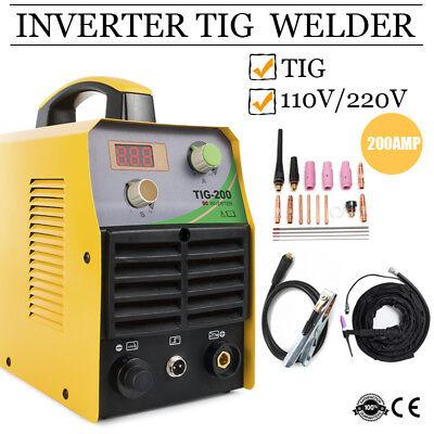 Tig200 110v220v Tig Welders 200a Igbt Inverter Tig Welding Machine Accessories