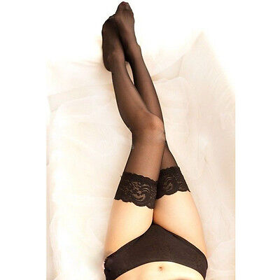 Hot Sale Sexy Women's Lace Top Stay Up Nightclubs Thigh High Stockings