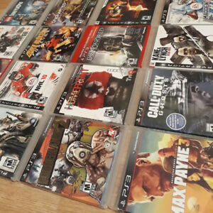PS3 Playstation 3 video games for sale (Pre-owned)