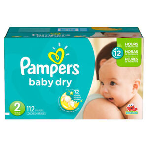 Pampers diapers and wipes!