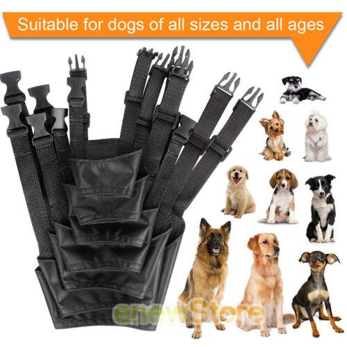 7 PCS Anti-Barking Pet Muzzles Adjustable Dog Muzzle Mouth C