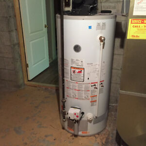 GE 190L (50Gal) Power Vent Natural Gas Water Heater