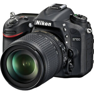 Selling a Mint Nikon D 7100 along with 18-55 and Sigma 70-300