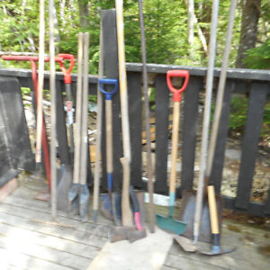 Assorted Garden and Landscaping Tools