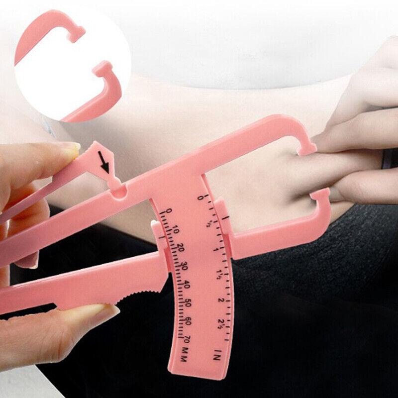 Personal Body Fat Caliper Skin Analyzer Measure Keep Health