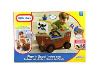 Little Tikes Play N Scoot Pirate Ship- New