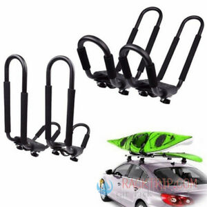[out stock <July Universal Kayak J Bar Car Roof Rack with Straps