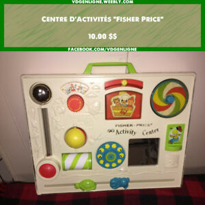 Centre d'activites Fisher Price